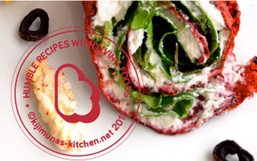 rawllitos de vida con fresones queso de semillas clorofila y kombu - kijimunas kitchen - consol rodriguez - reverde