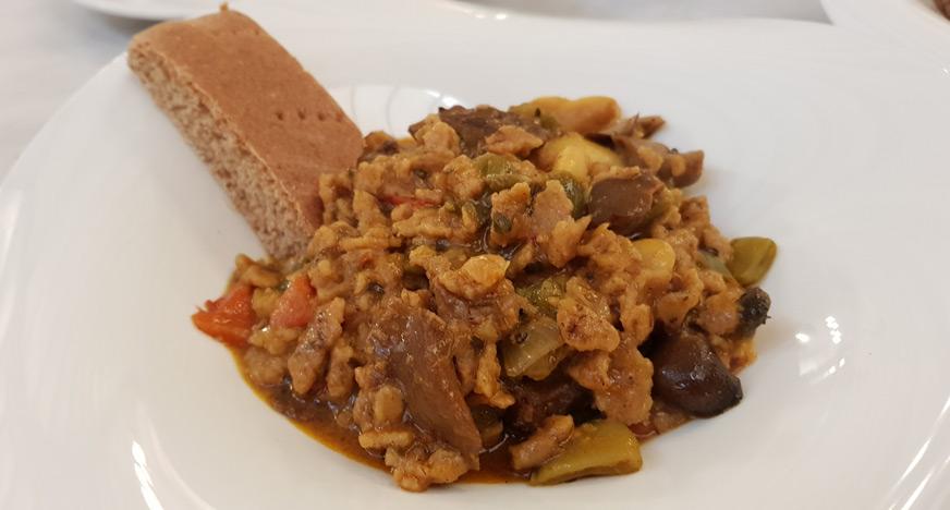 Gazpachos veganos accésit Gastro Castalla