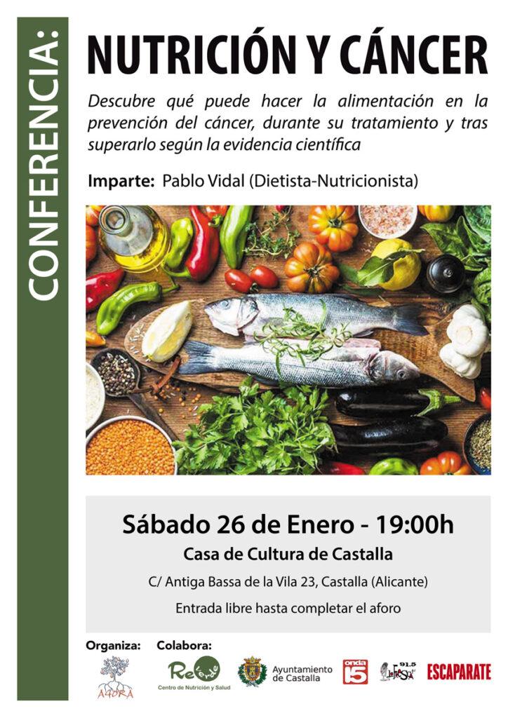Conferencia Nutrición y Cáncer