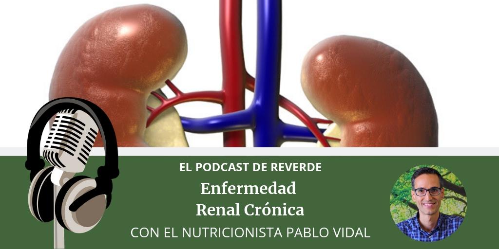 dieta - enfermedad renal cronica - podcast reverde - dietista - nutricionista - pablo vidal